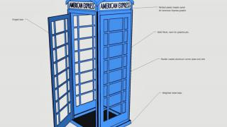 Telephone Booth Design